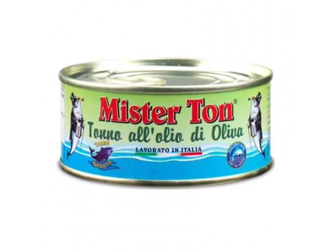 Kousky tuňáka v olivovém oleji 160g