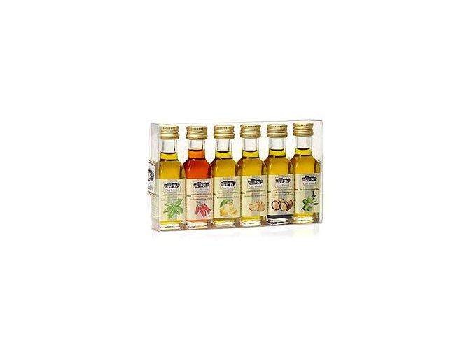 Sada ochucených olejů Dressing box 6x18ml