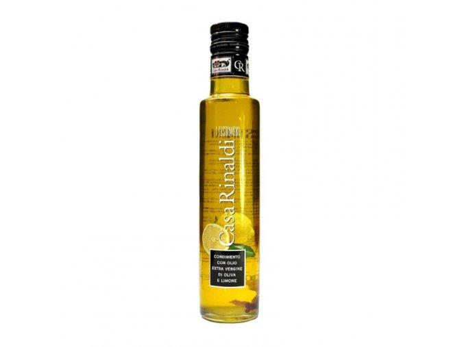 Ochucený Extra panenský olivový olej limone 250 ml