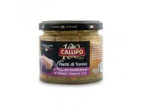 Filety z tuňáka s červenou cibulí z Tropei 200 g