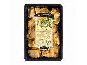 Čerstvé tortelloni plněné česnekem a chřestem 500 g