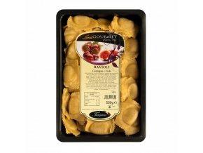 Čerstvé tortelloni plněné jedlými kaštany a fíky 500 g
