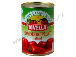 POMODORI PELATI loupaná rajčata 400 g