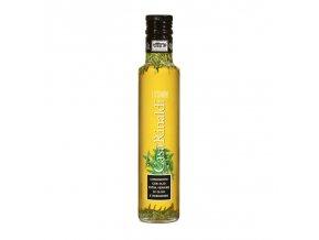 Ochucený Extra panenský olivový olej s rozmarýnem 250 ml