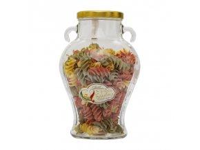 Pasta in Vaso Anfora Fusilloni Tricolore di Gragnano