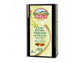 Olivový olej extra panenský Divella 3 l