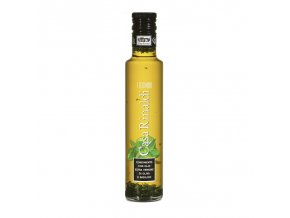 Ochucený Extra panenský olivový olej BASILICO 250 ml