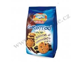 Sušenky GROTTOLLI s čokoládou 400 g