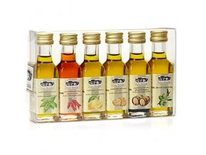 Sada ochucených olejů Dressing box 6x 18 ml