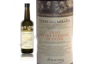 Extra panenský olivový olej TERRE DELL' ABBAZIA 750ml