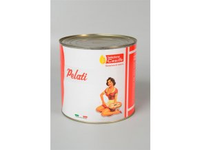 Pomodori Pelati - loupaná rajčata, 2550 gr.