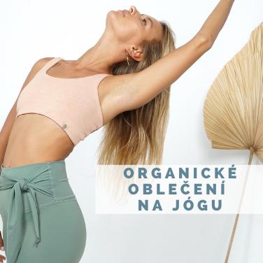 Organické obleční na jógu