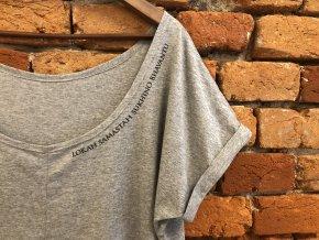Tričko Lokah  šedá