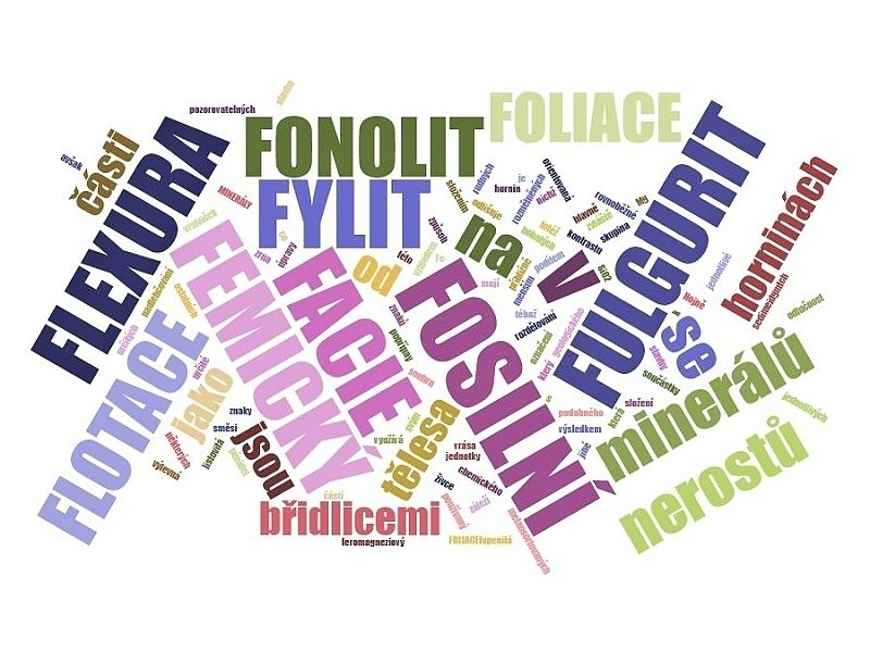 F - geologický slovník