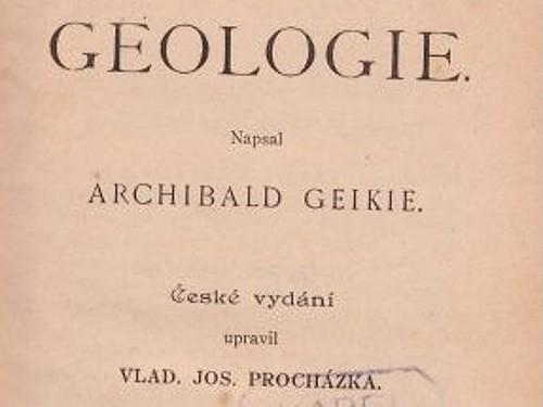 Geologie - Geikie Archibald