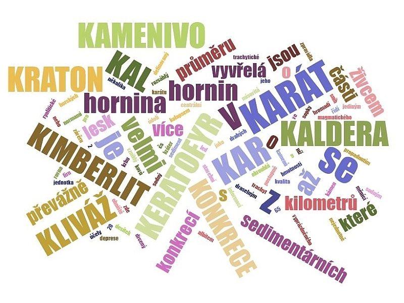 K - geologický slovník