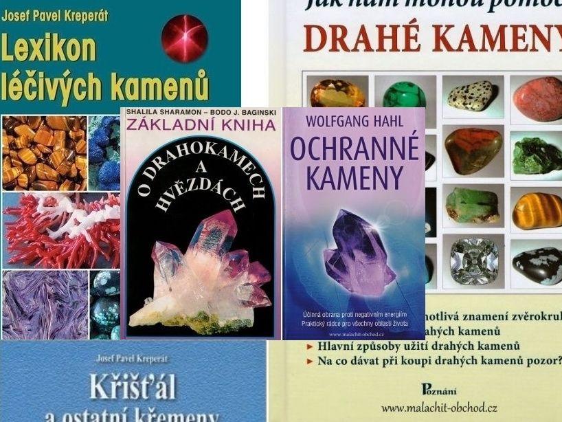 5 zajímavých knih o léčivých kamenech