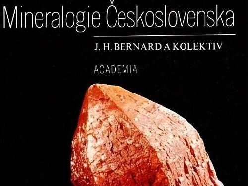 Mineralogie - Československa (2. vydání) - J. H. Bernard a kolektiv