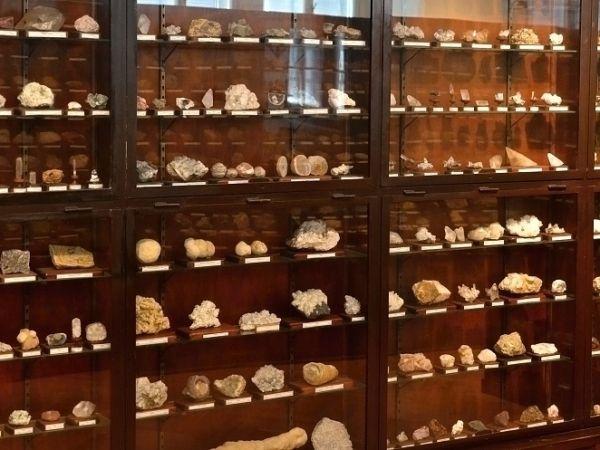 Minerály a drahé kameny - muzeum Přerov