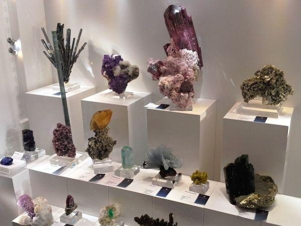 Výstava minerálů Mnichov