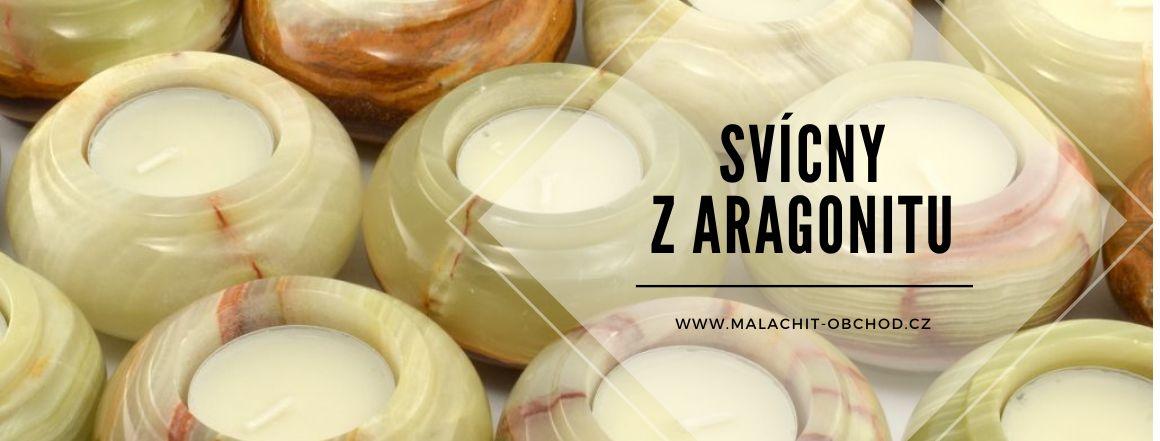 Svícny z aragonit-onyxu Pakistán