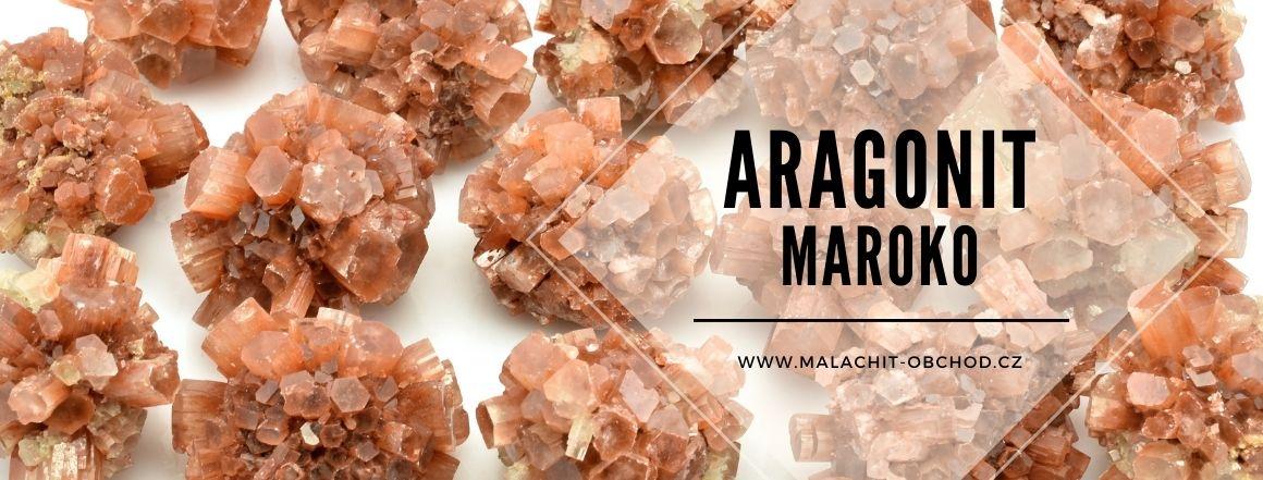 Aragonit krystaly - Maroko