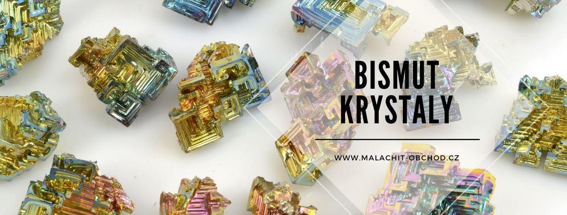 Duhové krystaly bismutu