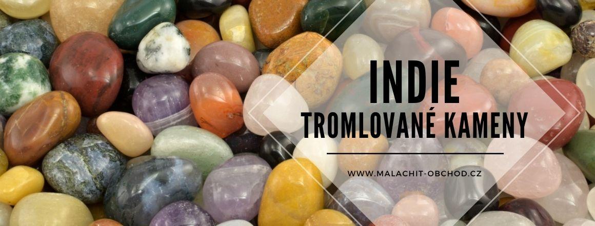 Tromlované kameny z Indie