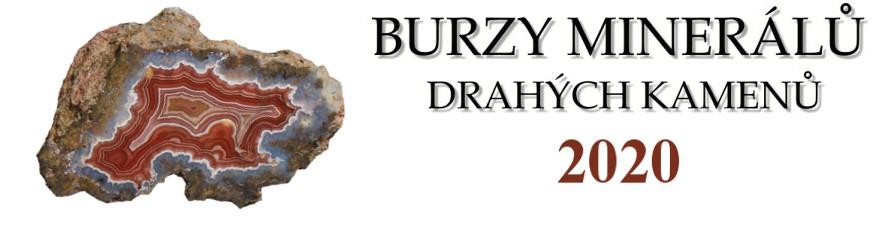 Burzy minerálů a drahých kamenů 2020