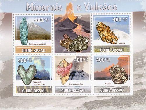 guinea-bissau-mnh-nature-minerals