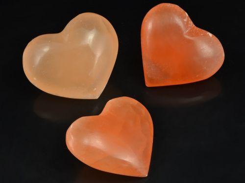 selenit-srdce-oranzove