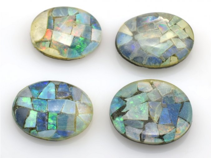 opal triplet 4ks 10x8mm