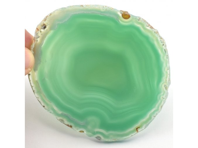 achat zeleny platek 1