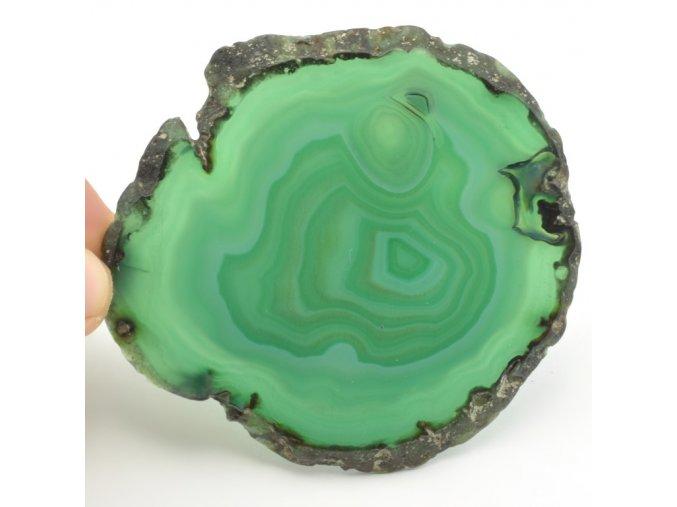 achat zeleny platek 33