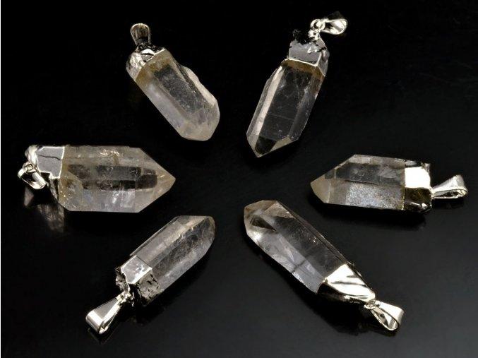 Křišťálový přívěsek krystal 1ks