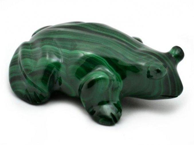 Malachit - žába (1)