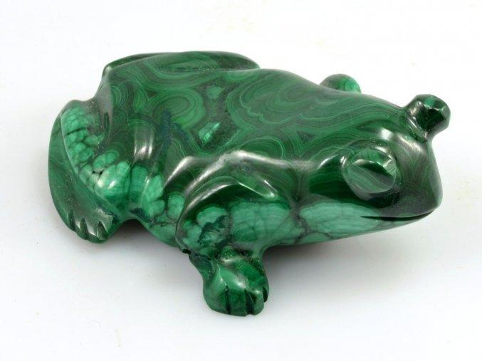 Malachit - žába (6)