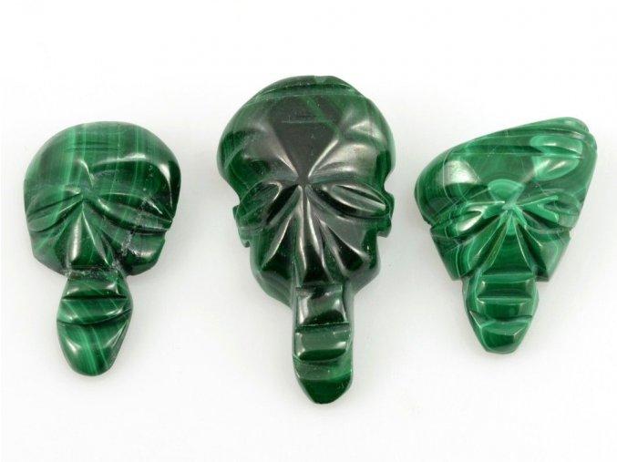 Malachit - maska 3ks (5)