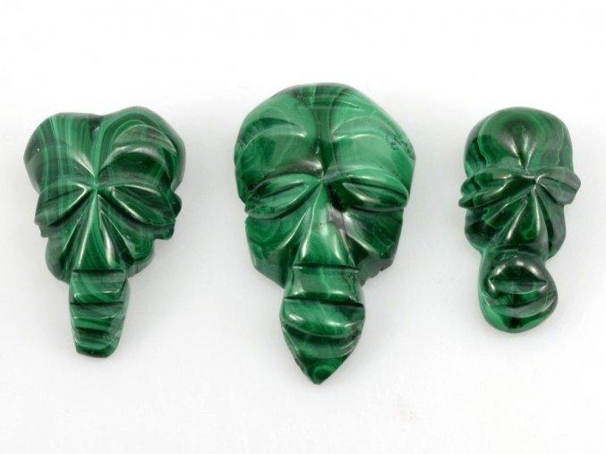 Malachit - maska 3ks (8)
