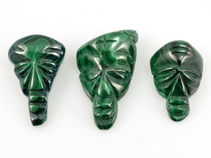 Malachit - maska 3ks (9)