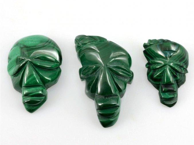 Malachit - maska 3ks (10)