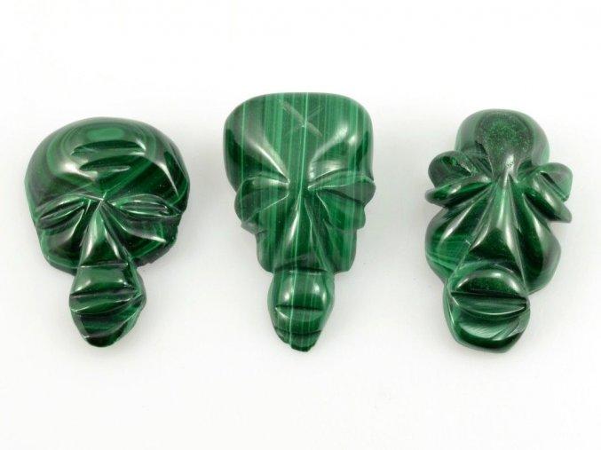 Malachit - maska 3ks (11)