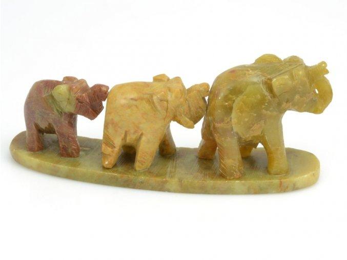 Tři sloni v řadě (1ks)