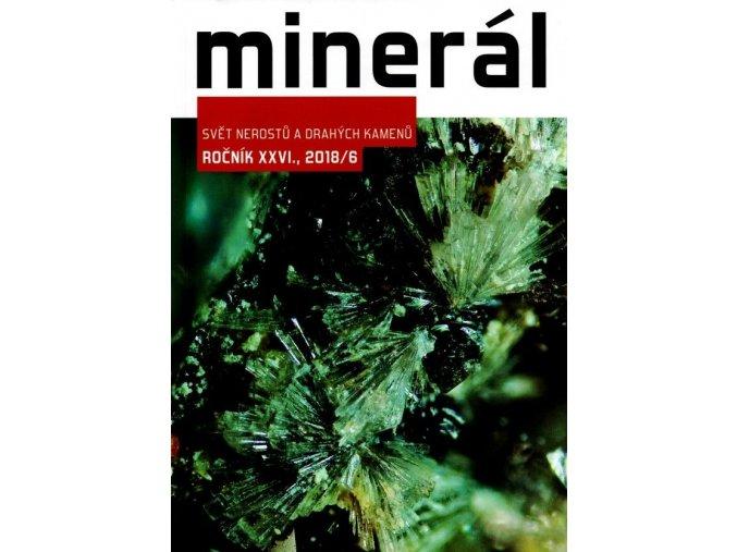 Časopis Minerál 2018/6