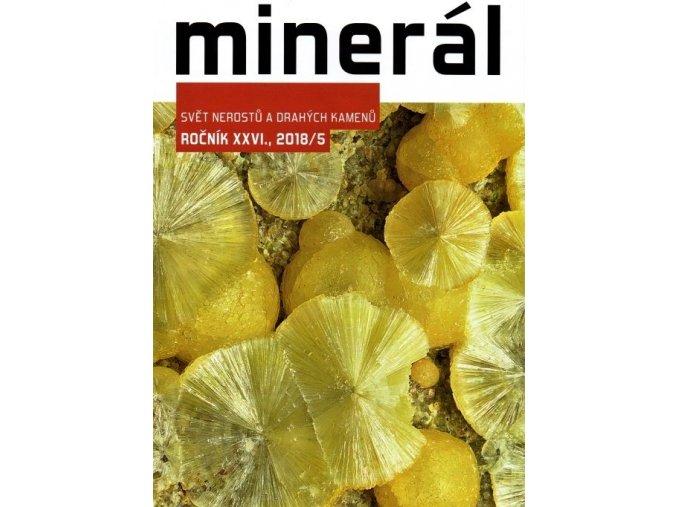 Časopis Minerál 2018/5