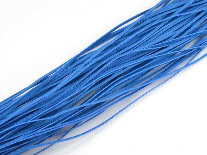 Kožený řemínek modrý 1ks