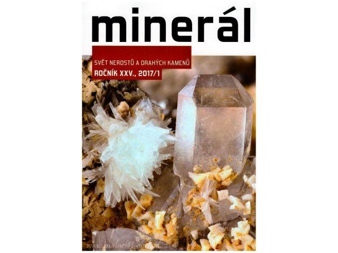 Časopis Minerál 2017/1