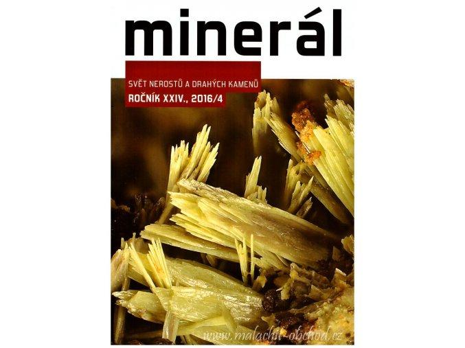 Časopis Minerál 2016/4