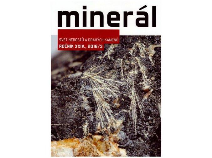 Časopis Minerál 2016/3