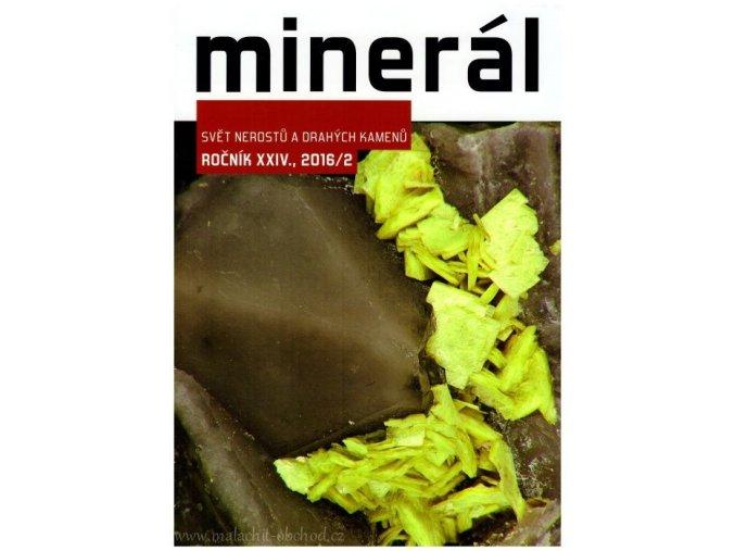Časopis Minerál 2016/2